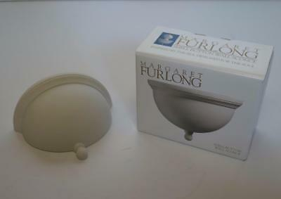 Margaret Furlong Classic Porcelain Shell Button Wall Sconce NEW in Box