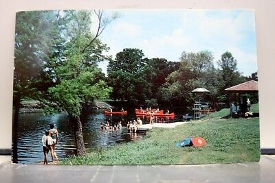 Texas TX Hunt Camp Arrowhead Guadalupe River Postcard Old Vintage Card View Post