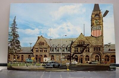 Wyoming WY Cheyenne Union Pacific Depot Postcard Old Vintage Card View Standard