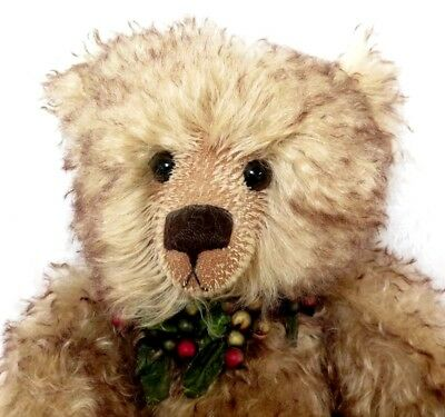 """TEDDY BEAR 20"""" Mohair Gooseberry By Cotswold Bears United Kingdom"""