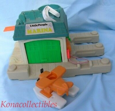 Fisher Price Little People Floating Marina 1987 USA