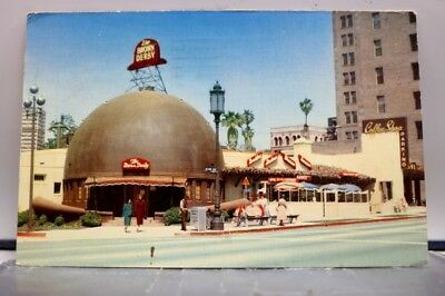 California CA Los Angeles Brown Derby Restaurant Postcard Old Vintage Card View