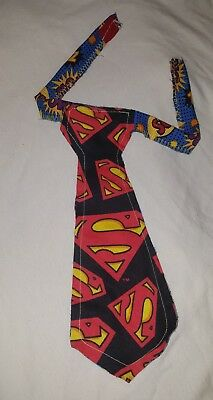 New Superhero TIE TODDLER super heroes Fabric unisex costume accessory Corbata