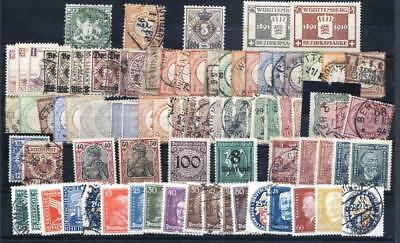 (943863) Small lot, Classical, Germany / Deutsches Reich / States