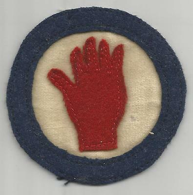 Book Of Dreams WW 1 US Army 93rd Division Patch Inv# A531
