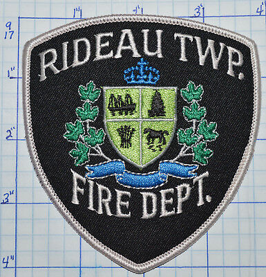Canada, Rideau Township Fire Dept Patch