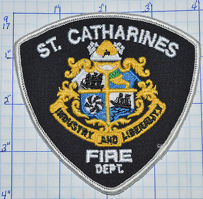 Canada, St. Catharines Fire Dept Ontario Patch