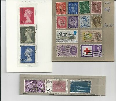Great Britain - Collection Of Used Stamps (1 Photos) - #gb15