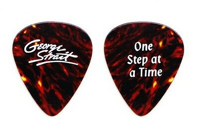 George Strait Faux Tortoise Guitar Pick 1998 One Step at a Time Tour