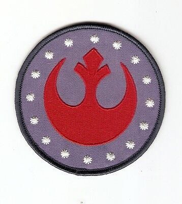 + STAR WARS Aufnäher Patch NEW REPUBLIC Rebel Alliance