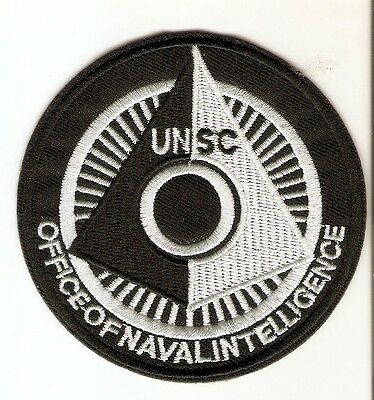 + STARSHIP TROOPERS Aufnäher UNSC Office of Naval Intelligence