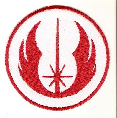 + STAR WARS  Aufnäher Patch  JEDI ORDER rot red