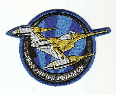 + STAR WARS Aufnäher Patch NABOO STARFIGHTER SQUADRON