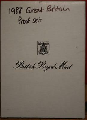 Uncirculated 1988 Great Britain Proof Set Free S/H