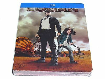 Logan The Wolverine Blu-Ray Steelbook Limited Edition Import Brand New