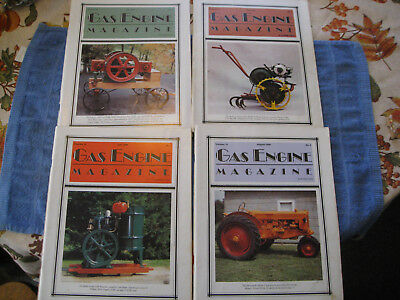 4- Gas Engine Magazines Hit And Miss Or Stationary Engine How To Articles Ads