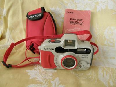 CANON SURE SHOT WP-1 ~ Weather & Water Proof 35mm Point & Shoot Film Camera