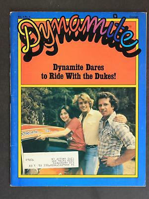 1981 Dynamite Magazine~Dukes Of Hazzard~Complete/intact