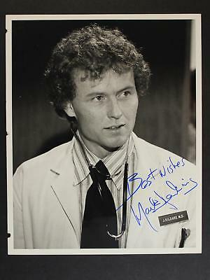 ACTOR MARK JENKINS (ANDROMEDA STRAIN~YOUNG DR. KILDARE) AUTOGRAPH 8 x 10 PHOTO~