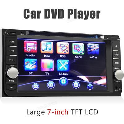 "7"" Touchscreen In Dash CD/DVD Car Player MP3/USB/SD Radio Bluetooth For Toyota"