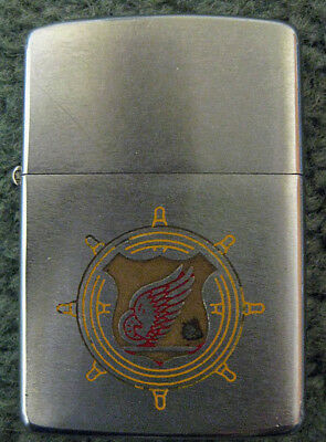 Vintage ZIPPO LIGHTER Patent Number 2517191 with Eagle Logo