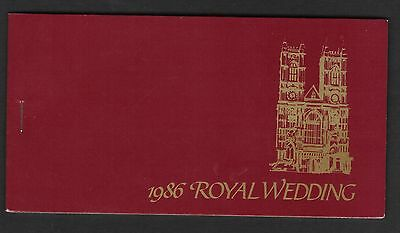 St Lucia 1986 Royal Wedding Booklet