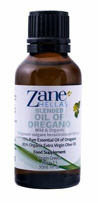 ZANE HELLAS Wild Pure Greek Essential Oil of Oregano with 86 Percent Minimum 15%