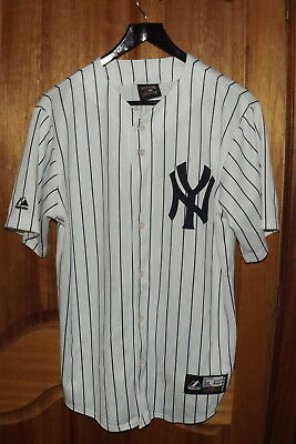 Babe Ruth New York Yankees Majestic Cool Base Cooperstown Collection Jersey ~ M