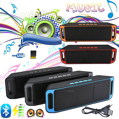 Bluetooth Lautsprecherbox Wireless Soundbar Tragbarer Musik Speaker Mini USB TF
