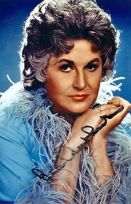Foto/Autogramm  BEA ARTHUR †2009  Golden Girls