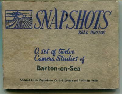 publisher's Snapshot album BARTON-ON-SEA includes Stop-me-and-buy-one icecream
