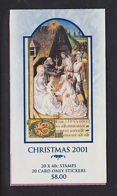Booklet -  2001 Christmas (Barcode 1)
