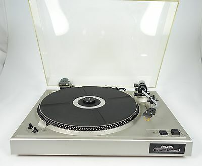 Rising Th-6000 Direct Drive Turntable Plattenspieler Stroboskop +++