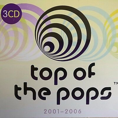 3CD NEW SEALED - TOP OF THE POPS - 2001-2006 - Pop Music 3x CD Album Box Set