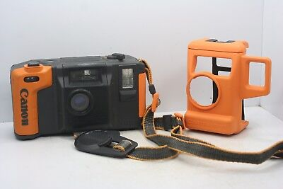 Canon Underwater AS-6 Camera w/ Lens Cap, Strap & Protective Case