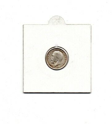 Silver 3d coin 1916 Nice Condition In Coin Pocket