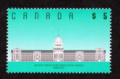 Canada #1183 $5.00 Bonsecours Market Montreal MNH
