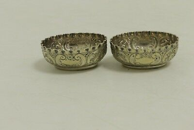 Two beautiful antique  MAPPIN BROTHERS Silver Cellars/Small Bowls (SL11)