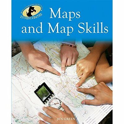 Geography Detective Investigates: Maps and Map Skills - Paperback NEW Jen Green(