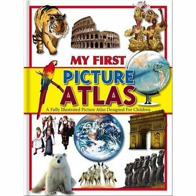 My First Picture Atlas (128pp Omnibus) - Hardcover NEW  2015-03-01