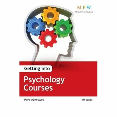Getting Into Psychology Courses - Paperback NEW Maya Waterstone 2012-03-21