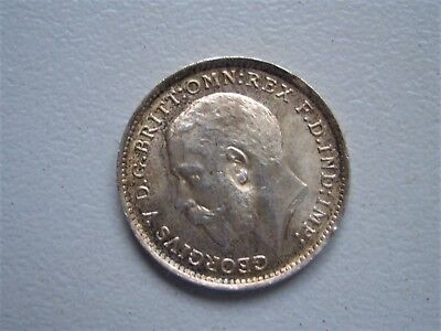 George V 1912 Threepence Uncirculated[180]