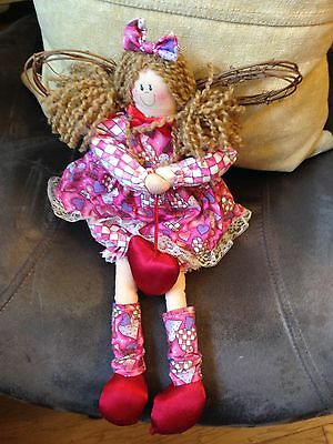Colorful Prima Creations Cloth Love Angel Doll With Free Shipping