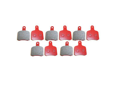 5 Sets of EBC FA540 Red Hard OTK/TonyKart Brake Pads
