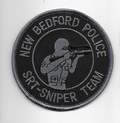 SWAT New Bedford MA SNIPER  SWAT Tactical Police Patch SEK Polizei Abzeichen USA