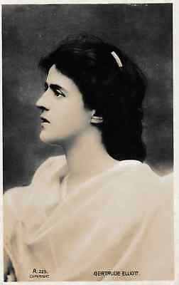Gertrude Elliott - post card