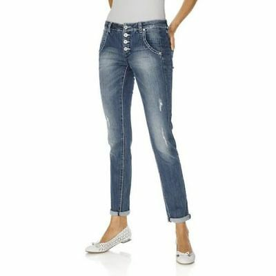 S9°5074 Boyfriend Jeans Von Best Connections In Blue Stone Gr. 48