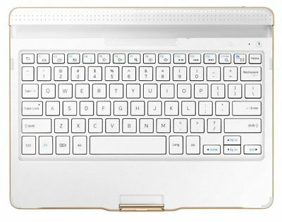 "Samsung EJ-CT800 Bluetooth Clavier Keyboard Case for Galaxy Tab S 10.5"" White"