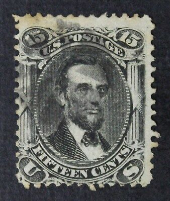 CKStamps: US Stamps Collection Scott#91 15c Lincoln Used CV$650