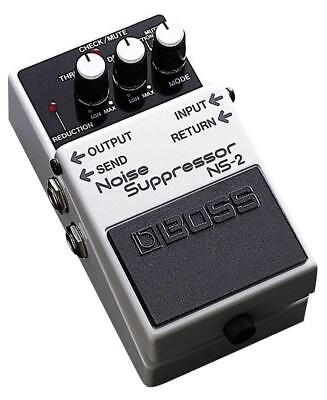 Boss NS-2 Noise Suppresor Pedal - Eliminates noise without altering tone